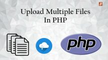 Upload multiple files in php