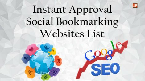Instant Approval Social Bookmarking Websites List