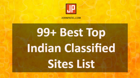 Best Top Indian Classified Sites List