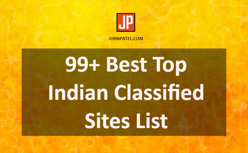 Best Indian Classified Sites List for SEO