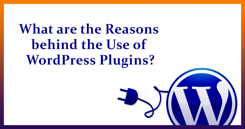 What are the Reasons behind the Use of WordPress Plugins?